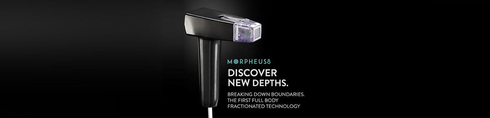 Morpheus 8 Microneedling device